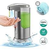 Boperzi Soap Dispenser Automatic Kitchen Touchless Auto Hand Soap Dispenser Infrared Motion Sensor Adjustable Volume…