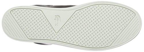 Lacoste STRAIGHTSET CRF - zapatilla deportiva de cuero hombre Negro (Blk)