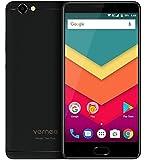Vernee Thor Plus - schermo AMOLED da 5,5 pollici 4G smartphone Android 7.0, batteria 6200mAh in spessore visibile 7,9mm, Octa Core 3GB RAM 32GB ROM, corpo pieno in metallo, fotocamera 8MP + 13MP, GPS + GLONASS, carica veloce - Nero