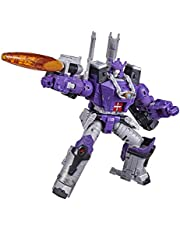 Transformers Toy Generations war for Cybertron: Kingdom Leader WFC-K28 Galvatron Actionfigur barn från 8 år, 19 cm multi