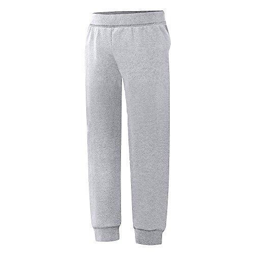 Hanes Girls' Jogger Sweatpants, Light Steel, M
