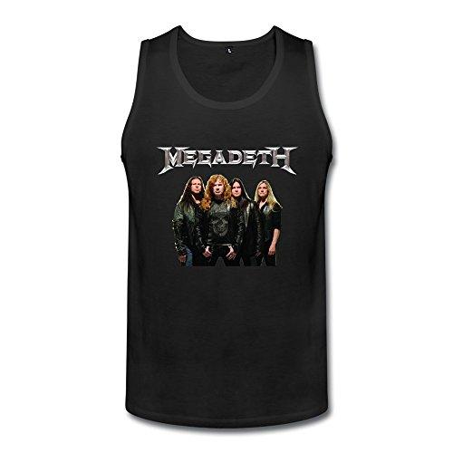 Men's Custom Your Own Megadeth Anthrax Cool Tank Top