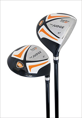 Founders Club The Judge Mens Complete Golf Club Package Set for Men with Graphite and Steel and Stand Bag For Right Hand by Founders Club (Image #6)
