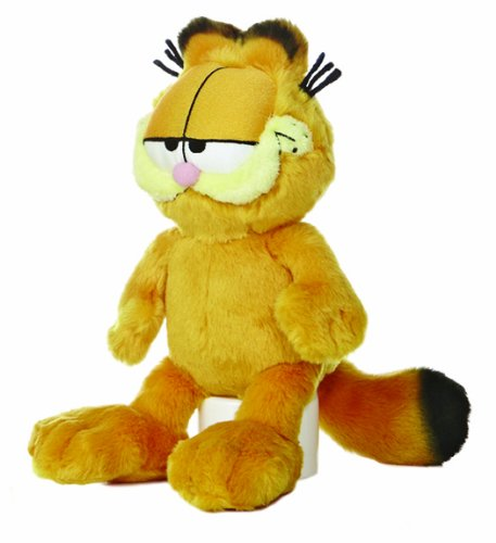 "Aurora World Garfield Floppy 10"" Plush"