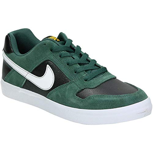 Multicolore Chaussures Skateboard NIKE White Vulc Delta 300 de Black White Homme Midnight Green SB Force HYqYr8I