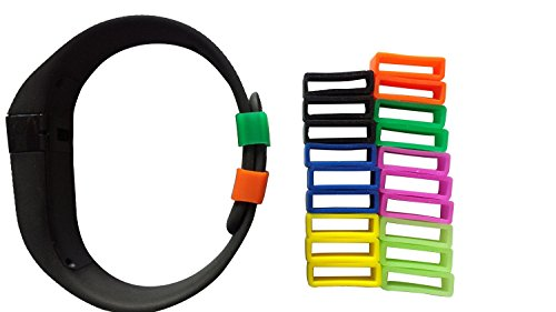 MDW Silicon Fastener Ring for Fitbit Charge (21 pcs)
