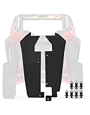 Rear Wheel Well Block Offs Inner Splash Fender Guard Mud Compatible with 2020 2021 Polaris RZR Pro XP 2 and 4 Seat