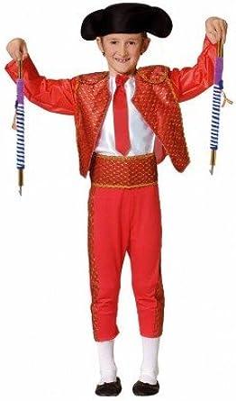 Disfraz de torero para niño multicolor 9-10 Años: Amazon.es: Ropa y accesorios