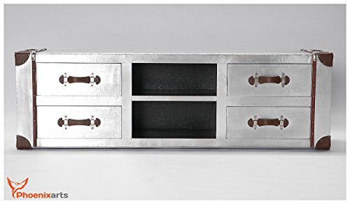 Tv sideboard design  Phoenixarts Industrie Design Vintage TV Sideboard Schrank ...