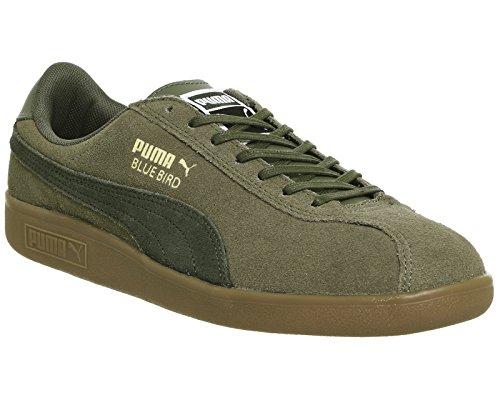 Puma - Zapatillas para mujer negro negro/blanco Burnt Olive Forest Night