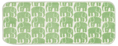 Nordic Finlayson kitchen mat 45 ~ 120cm (Green) / Moomin in the familiar Nordic brand / feng shui lucky color