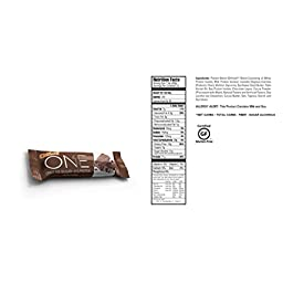 Oh Yeah! One Protein Bars Variety Pack 4 Flavors 12 Bars, High Fiber & Protein Great Healthy Snack Almond Bliss, Birthday Cake, Chocolate Brownie, Chocolate Chip Cookie Dough