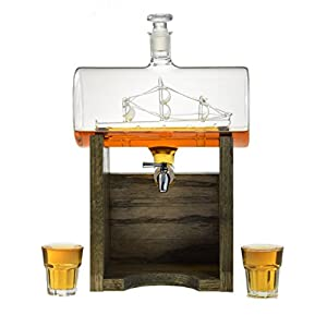 Sailboat Decanter Review – Liquor Decanter – Scotch Whiskey