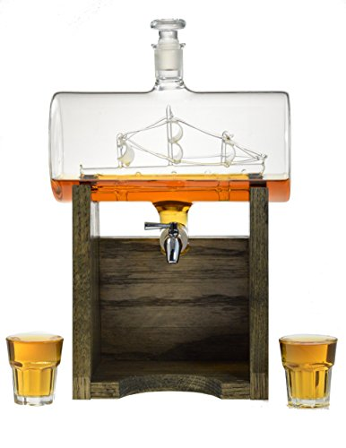 sailboat decanter