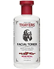 Thayers Witch Hazel Facial Toner with Aloe Vera, Rose Petal Scented, 12 oz