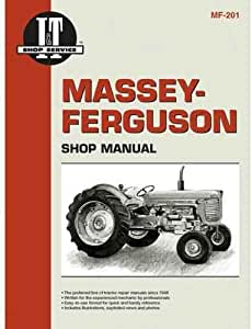 Business & Industrial Shop Manual I&T MF-201 For Massey Ferguson ...