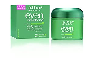 Alba Botanica Even Advanced, Sea Lipids Daily Cream, 2 Ounce