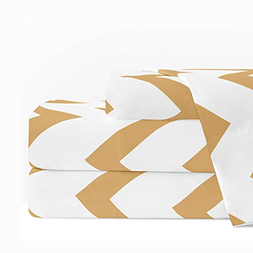 Egyptian Luxury 1600 Series Hotel Collection Chevron Pattern
