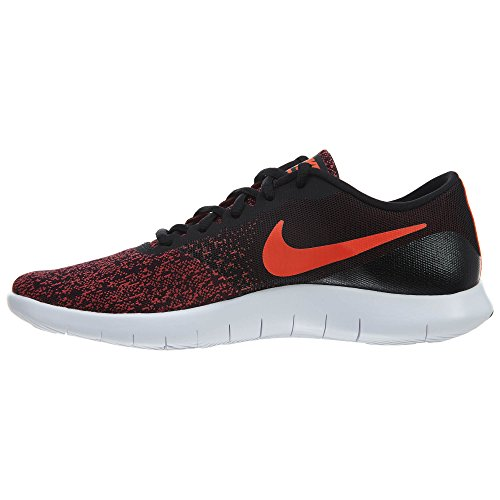 Nike Herren Flex Contact Lightweight Laufschuh Schwarz / Total Crimson-Gym Red
