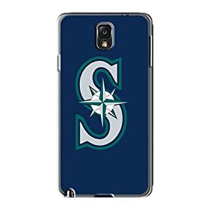 JamieBratt Samsung Galaxy Note 3 Shock Absorbent Hard Cell-phone Cases Support Personal Customs Nice Baseball Seattle Mariners 1 Pictures [AWf8062UxZy]