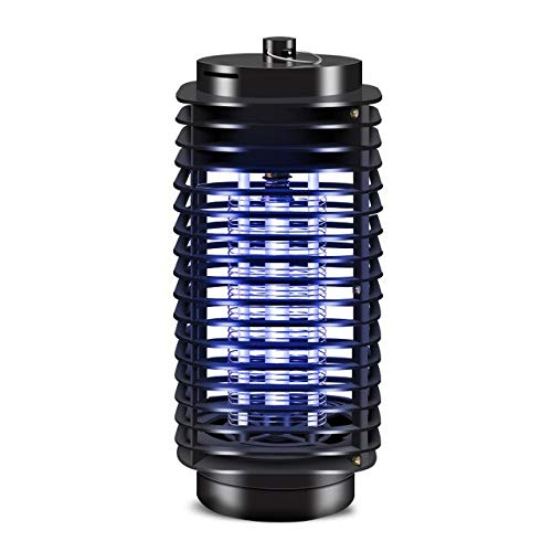 Electronic Mosquito Killer LED Electric Insect Zapper lamp Mosquito Killer Killer Trap Light Electronic Mosquito Killer lamp   Black
