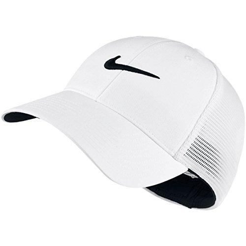 1 Tour Mesh Hat, White/White/Black, Large/X-Large (Mesh Stretch Cap)