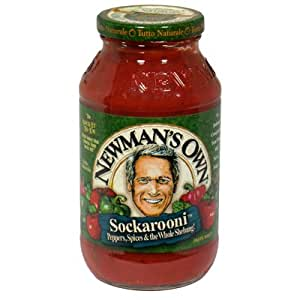 Amazon.com : Newman's Own Sockarooni Pasta Sauce 24 Oz ...