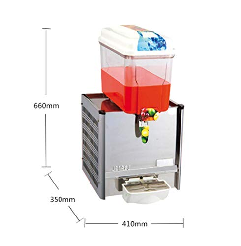 CGOLDENWALL Commercial Beverage Machine Automatic Juice Dispenser Stainless Steel Beverage Machine Cold&Hot Drink Machine Cold Beverage Machine Beer Machine 12L Single/Double/Three Tanks (Single Tank, Single Cold) by CGOLDENWALL (Image #2)