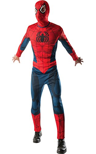 Rubie's Costume Men's Marvel Classic Adult Spider-Man Costume, Multi, Standard
