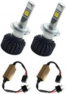 Zesfor Kit luz Led Cruce para Ford (Incluye Kit led canceladores ...