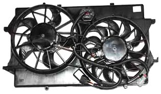 TYC 621310 Ford Focus Replacement Radiator/Condenser Cooling Fan Assembly (Cooling Fan Ford Focus compare prices)