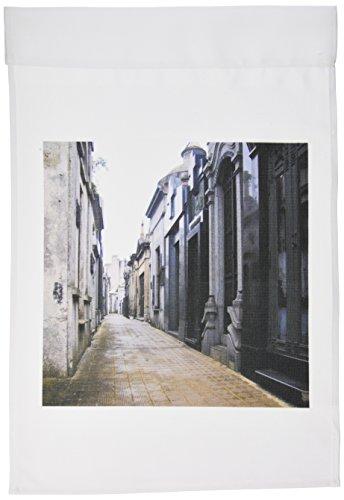 - 3dRose fl_85443_1 Buenos Aires, Argentina, Ricoleta, Evitas Graveyard-SA01 MWR0027-Micah Wright Garden Flag, 12 by 18-Inch