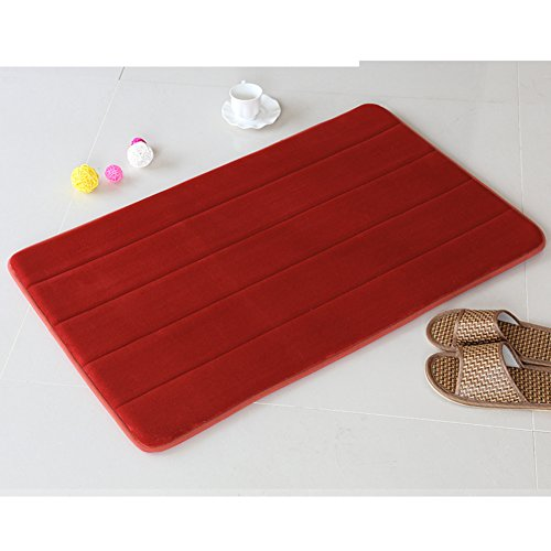 Bathroom mats/foot pad/toilet/bathroom door mats/non-slip suction bath mat-D 140x200cm(55x79inch) by DUSPLOT