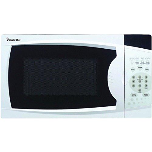 Magic Chef MCM770W Countertop Microwave White .7 Cu ft 700W