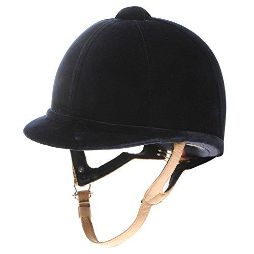 Cap Charles Owen - Charles Owen Boys Xp Show Jumping Hat Navy 54cm 6 5/8