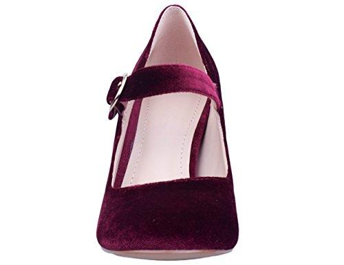 41 Femme 36 Escarpins Greatonu Bordeaux Chaussures Eu vXPp1p