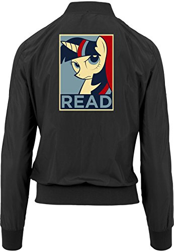 Black Black Bomber Bomber Bomber Girls Giacca Read Freak Pony Certified twqxqp8I5