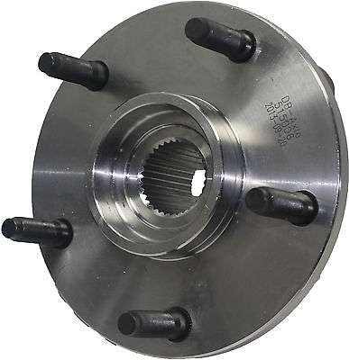 Detroit Axle - Front Wheel Hub and Bearing Assembly for 1994-1999 Dodge Ram 1500 4x4 5-Lug [NO ABS] by Detroit Axle