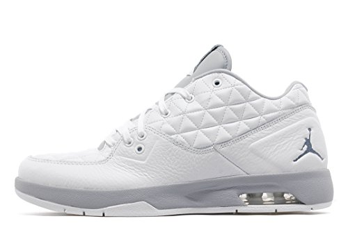 Nike Jordan Mens Clutch 8 Bianco / Grigio Lupo / Nero Bianco / Grigio Lupo / Nero