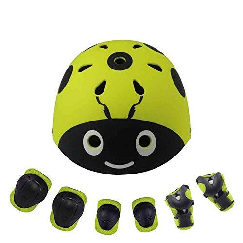 AlenX Casco de Bicicleta de montaña para niños, Casco de Bicicleta, Casco de Moto, Casco para niños y niñas, Ligero,...