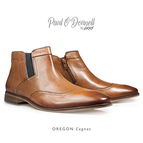 Paul ODonnell , Herren Stiefel Cognac