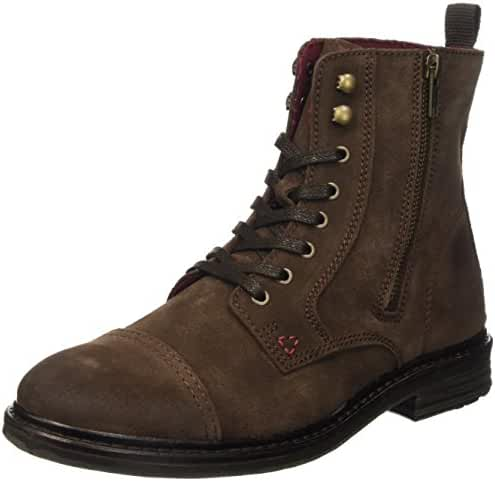 GUESS Men's Jeremy Combat Boots