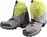 Azarxis Gaiters Low Gators Snow Ankle Gaiters for Outdoor Hiking Walking Backpacking Women Men Lightweight Wat