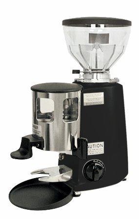 Mazzer Mini Timer Black ETL Espresso Grinder