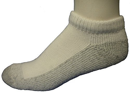 Cushees Thick Mini Socks, Grey Bottom 3-pack (162)