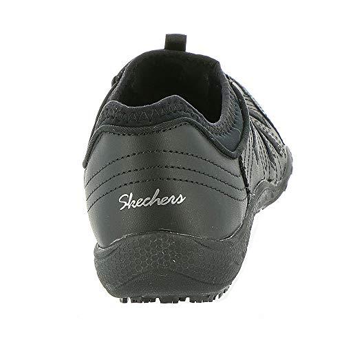310135676be Skechers Work Women s Bungee Slip Resistant Lace-Up Sneaker