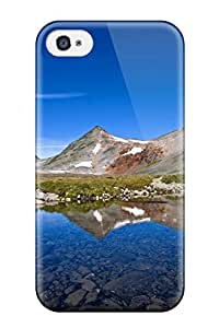 AnnaSanders Iphone 4/4s Well-designed Hard Case Cover Mountain Earth Nature Mountain Protector wangjiang maoyi