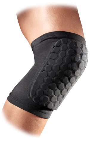 McDavid 6440 Hexpad Knee Or Elbow (Black, - Goalie Knee Pads Soccer