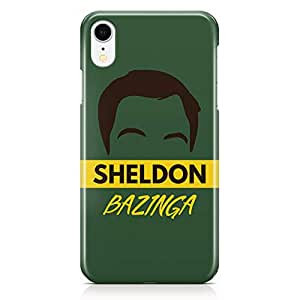 Loud Universe Case for iPhone XR Wrap Around Edges Sheldon Cooper Bazinga Tv Show Rugged Light weight Printed Edges iiPhone XR Cover