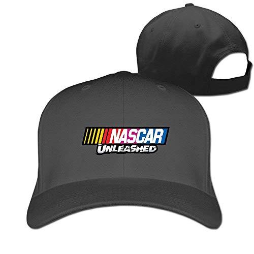 navely Men Women Unisex Adult Hats Nascar Unlesshed Logo Mesh Cap Trucker Hat Adjustable Baseball Cap for Boys Girls -